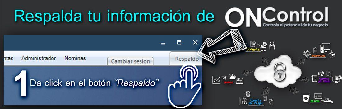 Respalda la Informacion de tu Sistema ONControl